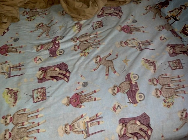 Monkey Bed Sheets #3