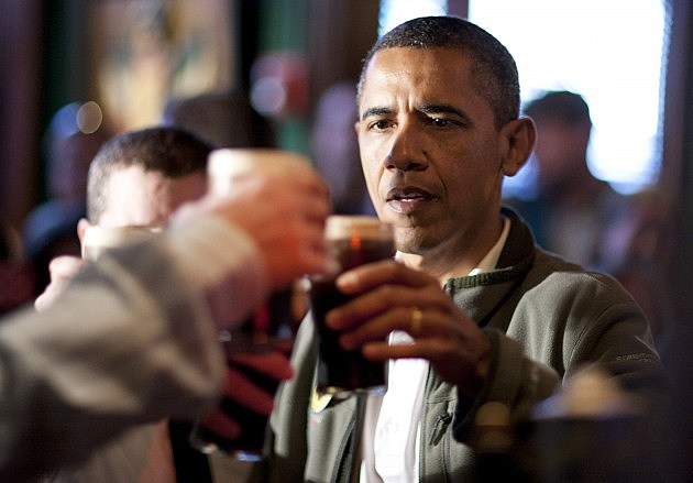 President Obama Celebrates St. Patrick's Day