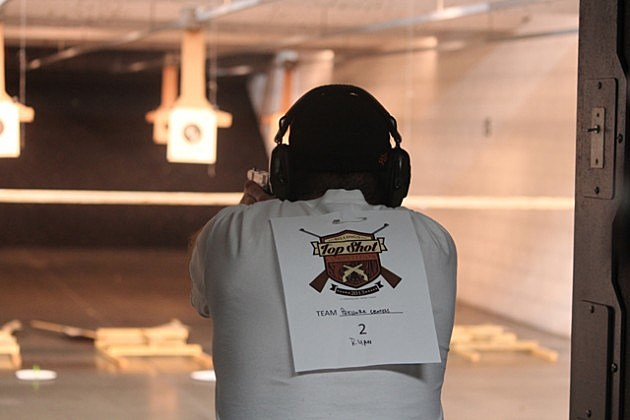 Pistol Shooting Competition at Billings Top Shot 2013