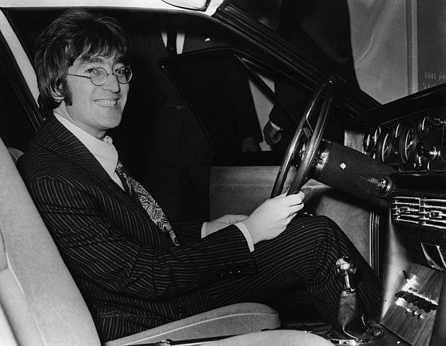 John Lennon Beatle Car
