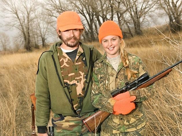 Dad and Daughter Gun Show